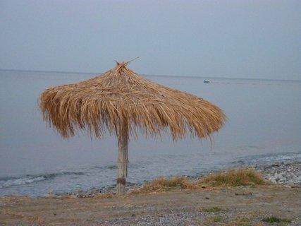 FOTKA - Slunečník na pobřeží