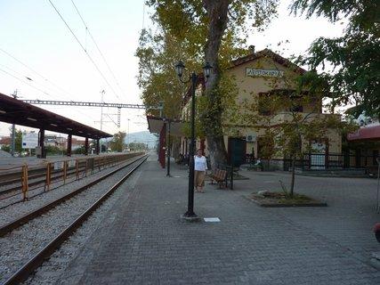 FOTKA - Vlakové nádraží v Leptokarii I