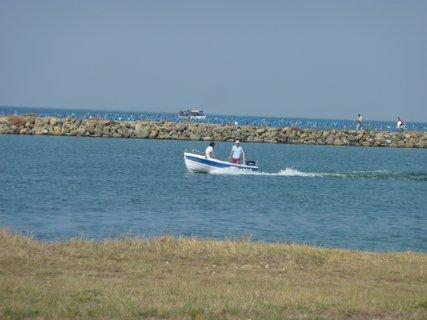 FOTKA - Loďka na moři