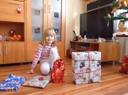 FOTKA - darčeky pre vnučku