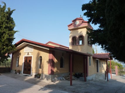 FOTKA - Kostel na hřbitově v Leptokarii