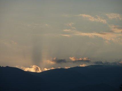 FOTKA - Západ slunce v Leptokarii