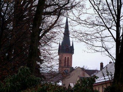 FOTKA - Věž kostela sv. Vavřince