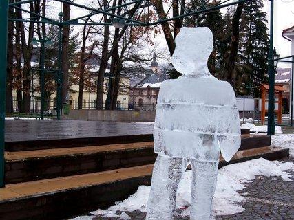 FOTKA - Ledový mužíček