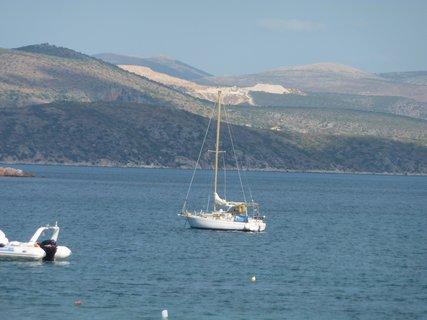 FOTKA - Loďka na moři...