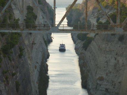 FOTKA - Korintský průplav V