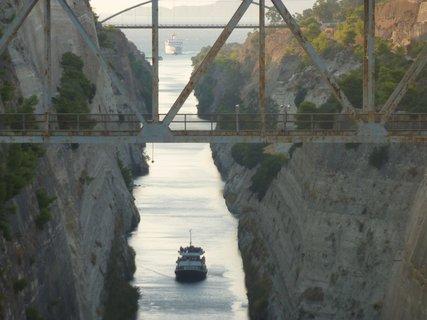 FOTKA - Korintský průplav VI