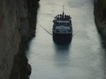 FOTKA - Korintský průplav VII