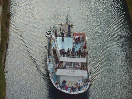 FOTKA - Korintský průplav VIII