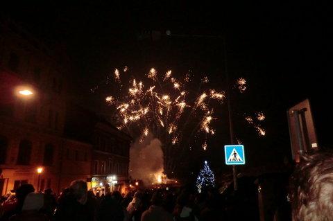 FOTKA - Ohňostroj - vítání Nového roku