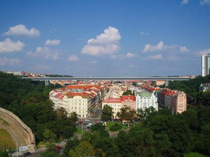 FOTKA - pohled na Nuselský most z Vyšehradu