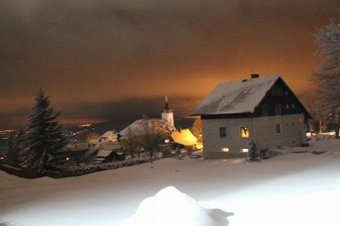 FOTKA - podvečerní kostel