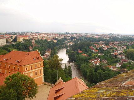 FOTKA - Tábor - pohled z věže