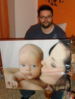 FOTKA - Petr dostal fotku na plátně