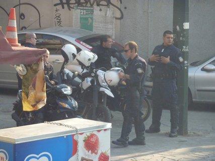 FOTKA - Aténská policie
