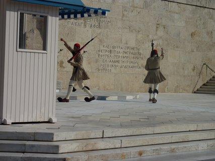FOTKA - Výměna stráží před parlamentem III