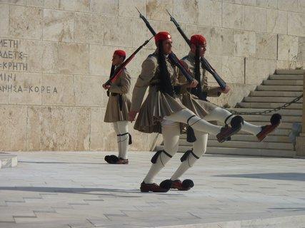FOTKA - Výměna stráží před parlamentem VII