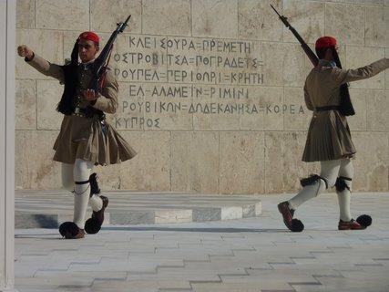 FOTKA - Výměna stráží před parlamentem IX