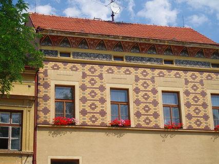 FOTKA - Bechyně - dům na náměstí