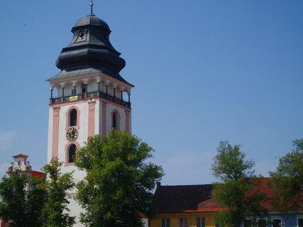 FOTKA - Bechyně - věž kostela