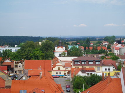 FOTKA - Bechyně - pohled z věže .