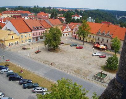 FOTKA - Bechyně - pohled z věže ..