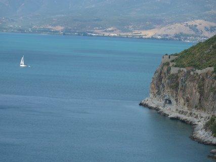FOTKA - Výhled z pevnosti Palamidi II