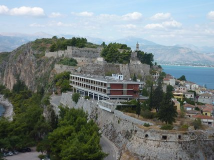 FOTKA - Nafplio - pevnost Akronafplio II