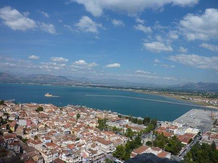 FOTKA - Výhled z pevnosti Palamidi II.