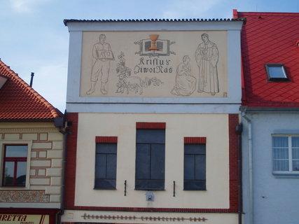 FOTKA - Beroun - dům na náměstí