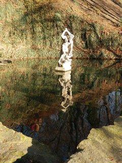 FOTKA - socha Herkula (spodní jezírko, Petřín)