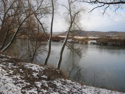 FOTKA - Zimní řeka 5