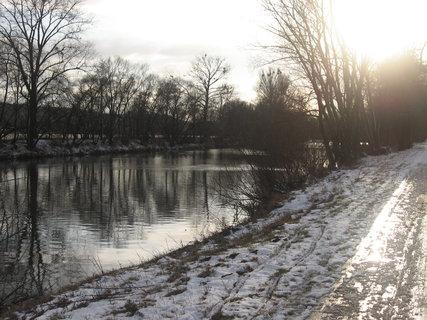 FOTKA - Zimní řeka 6