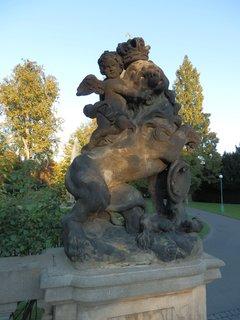 FOTKA - lev - Královská zahrada , Pražský hrad