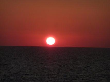 FOTKA - Západ slunce na moři I