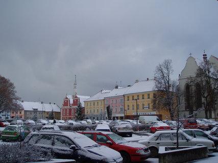 FOTKA - ve městě - leden 2012 .