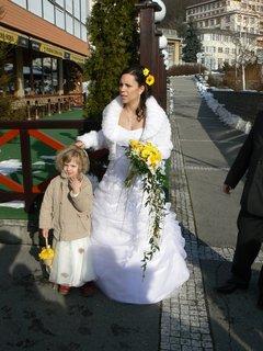 FOTKA - nevěsta s Kamilkou
