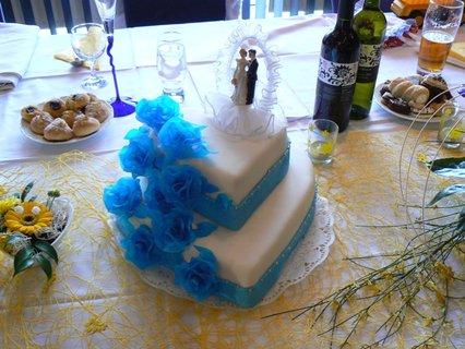 FOTKA - svatební dort.