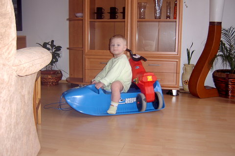 FOTKA - lumpíček (((O: naložím motorku a jedu (((O: