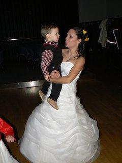 FOTKA - nevěsta s Matýskem