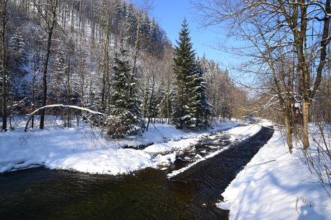 FOTKA -  U horské řeky
