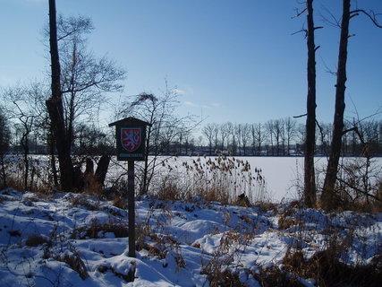 FOTKA - u rybníka  - 18.1.2012 ..