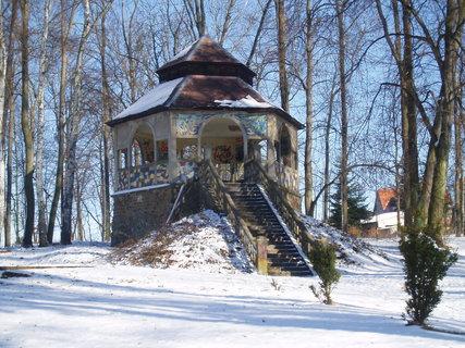 FOTKA - Altán v zimě