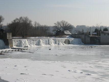 FOTKA - zamrzlý splav