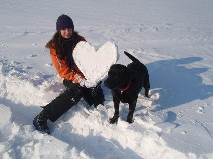 FOTKA - Sněhové srdce