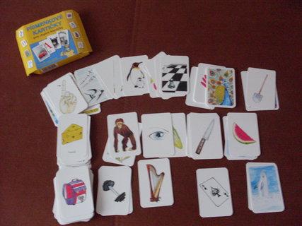 FOTKA - Písmenkové kartičky