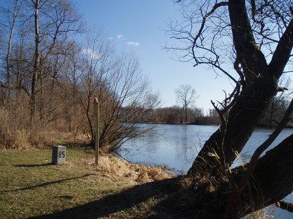 FOTKA - u soutoku řeky Lužnice .