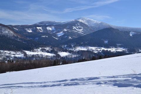 FOTKA - Zima pod Lysou horou