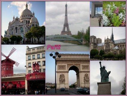 FOTKA - Paříž - vzpomínky