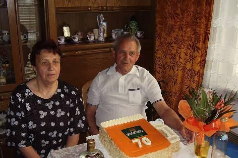 FOTKA - dědovi 70 narozeniny